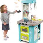 La cuisine Smoby Bubble est très pratique d'utilisation pour les enfants de 3 ans et plus.