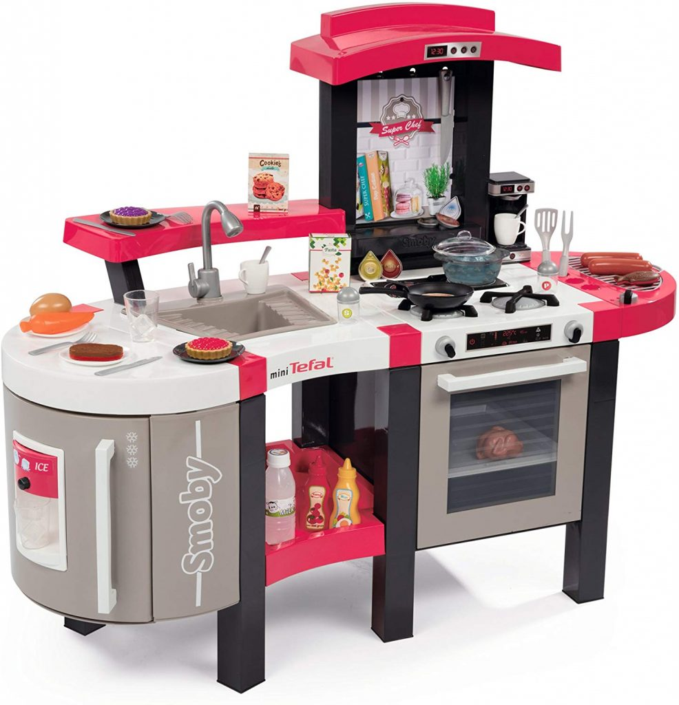 La cuisine smoby Tefal Sper Chef deluxe va permettre à votre enfant de se mettre dans la peau d'un chef cuisinier.