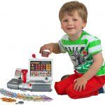 La caisse enregistreuse jouet est idéale pour apprendre à votre enfant à compter.