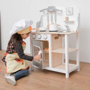 Cuisine en bois enfant New Classic Toys Bon Appétit