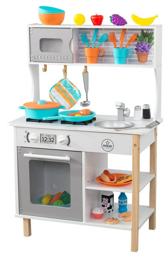 La cuisine Kidkraft All Time Play ne prend pas beaucoup de place.