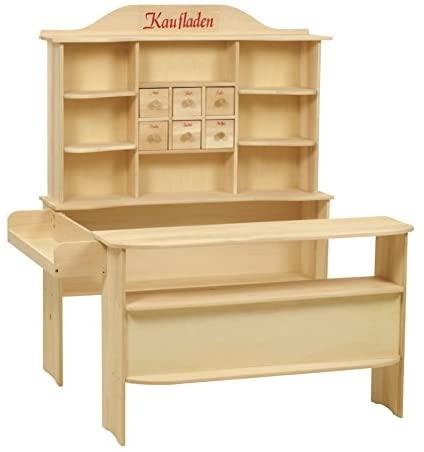Votre enfant va adorer jouer à la marchande avec ce jouet en bois Roba.