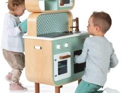 Cuisine en bois Janod pour enfant Cooker Reverso