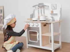 Cuisine en bois jouet
